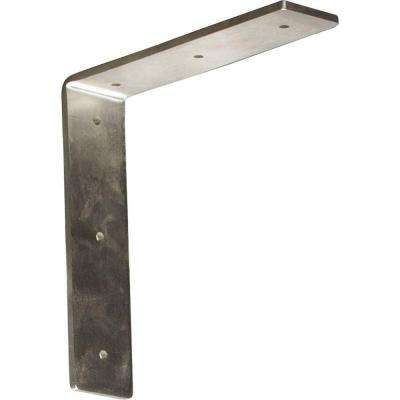 8 in. x 2 in. x 8 in. Stainless Steel Unfinished Metal Hamilton Bracket