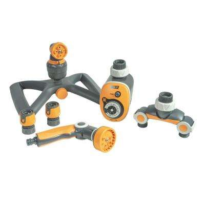 4 Jet Lawn and Yard Kit with 8 Jet Variable Pistol
