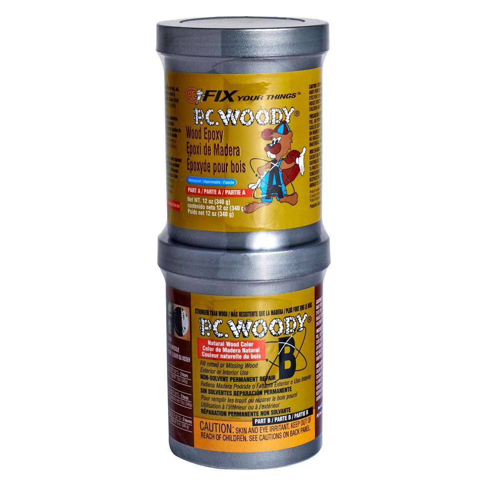 12 oz. PC-Woody Wood Epoxy Paste