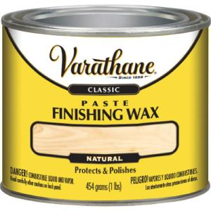 Varathane 1 Lb Paste Finishing Wax 339837 The Home Depot