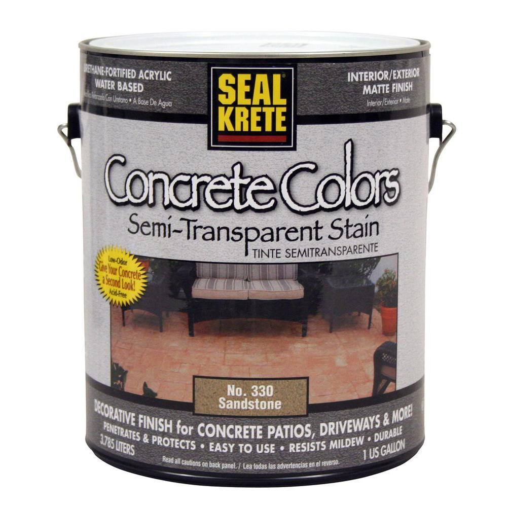 Seal-Krete 1-gal. Concrete Colors - Sandstone-DISCONTINUED