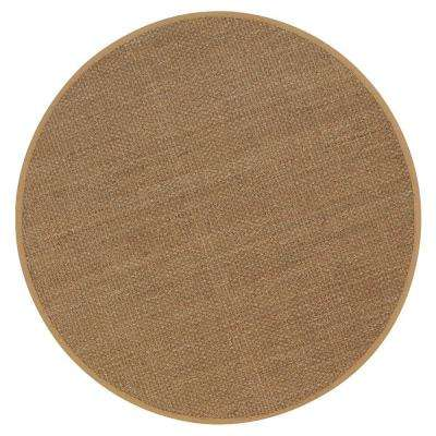Seascape Natural 8 ft. Round Area Rug