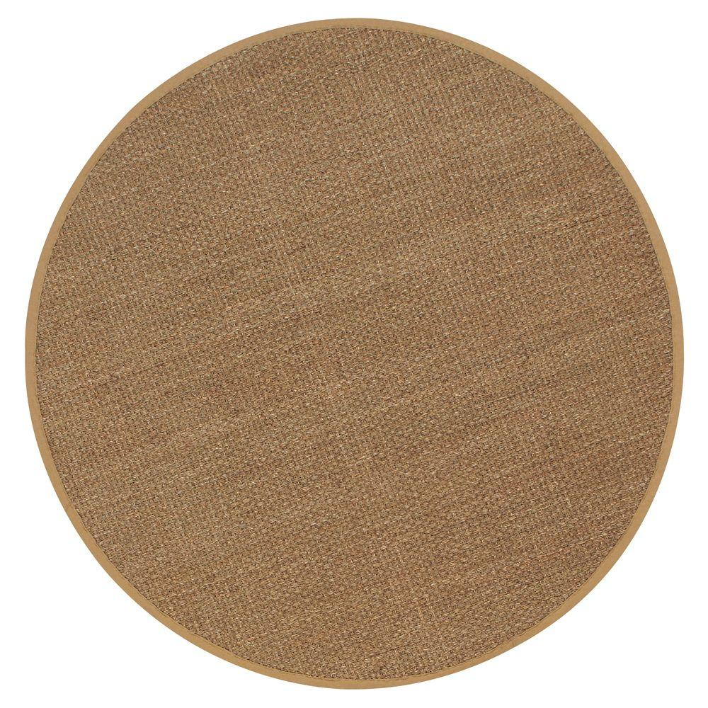 Seascape Natural 6 ft. Round Area Rug