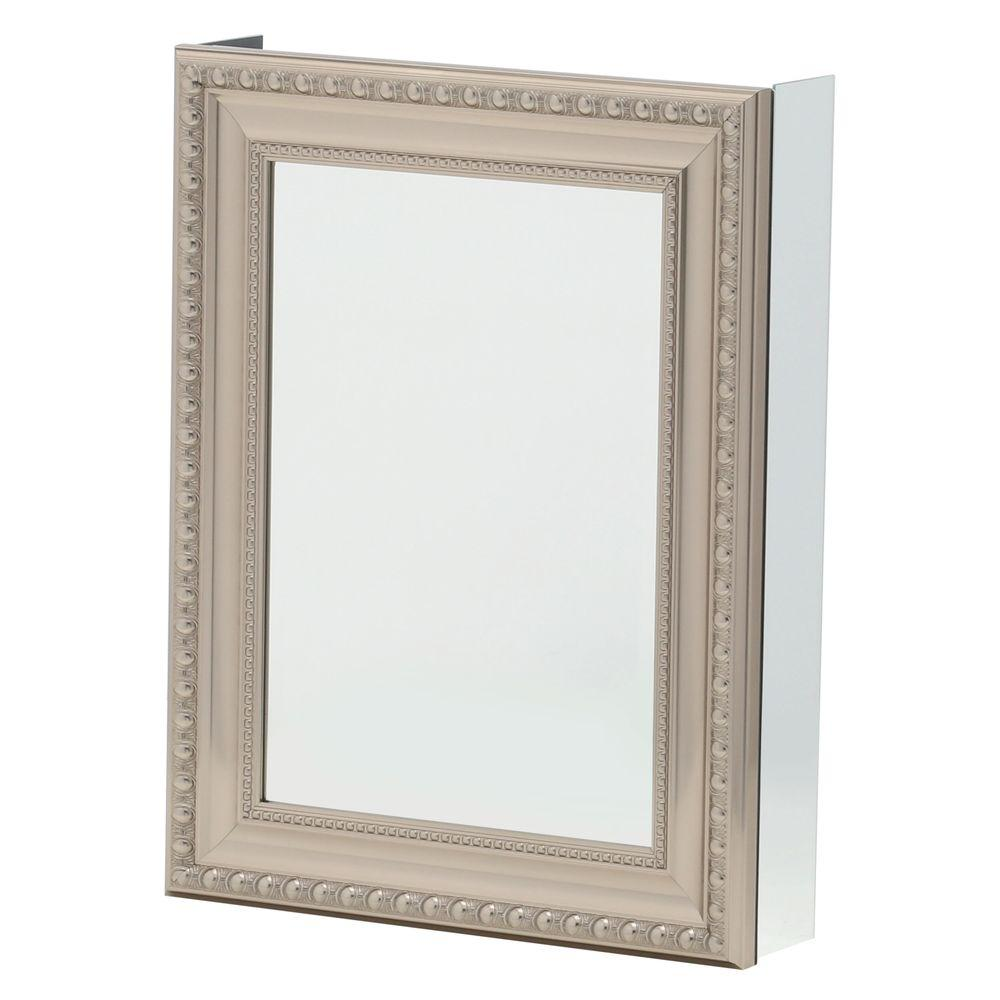 Pegasus 20 in. W x 26 in. H Framed Recessed or Surface-Mount ...