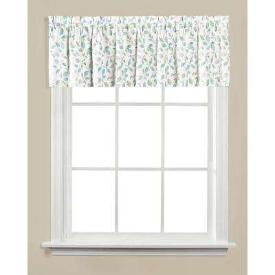 Gentle Wind 13 in. L Polyester Valance in Jade