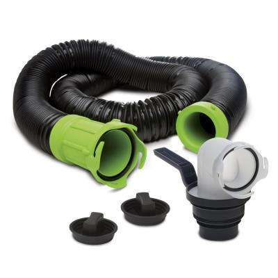Titan Premium 15 ft. RV Sewer Kit in Black