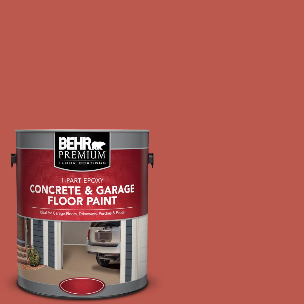 1 gal. #M170-7 Tandoori 1-Part Epoxy Concrete and Garage Floor Paint