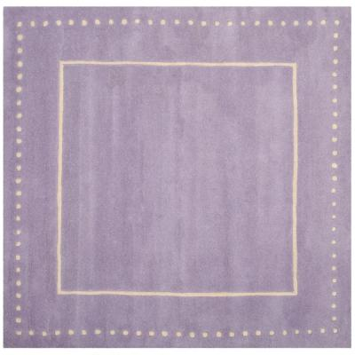 5 X 5 Purple Area Rugs Rugs The Home Depot