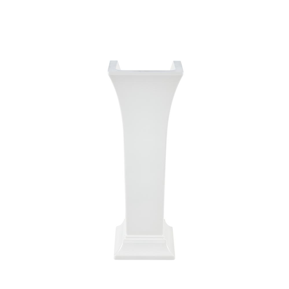 American Standard Town Square S Pedestal Leg in White