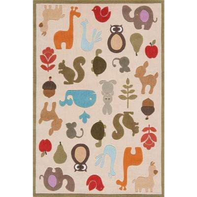 Caprice Ivory 8 ft. x 10 ft. Indoor Area Rug