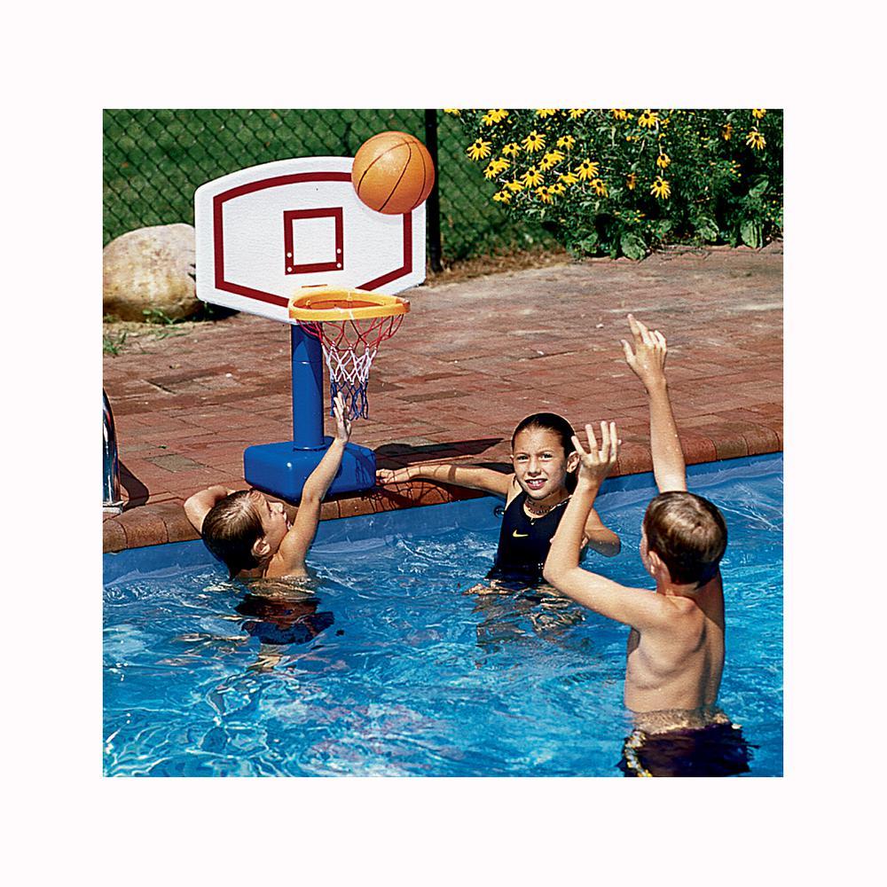 Jammin Poolside Basketball Hoop Game
