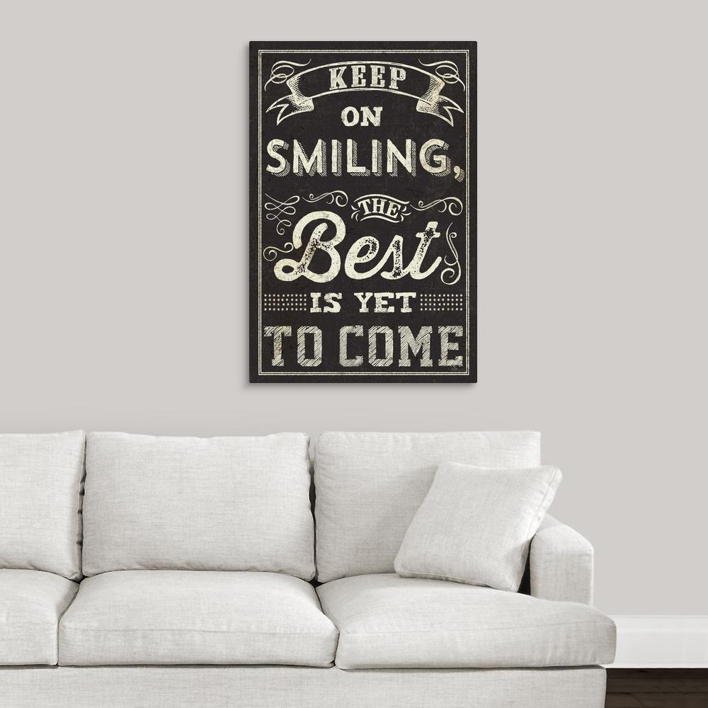 Chalk Quotes Ii By Pela Studio Canvas Wall Art