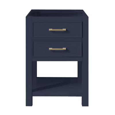 Brooks 24 in. W x 21.5 in. D Bath Vanity Cabinet Only in Navy Blue