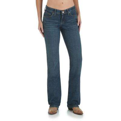 Women's 5x34 Medium Denim Ultimate Riding Jean