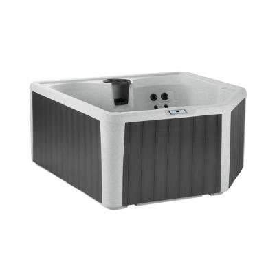 Lifesmart Sereno 4-Person 22-Jet 110-Volt Plug and Play Spa with Thermal Locking Cover