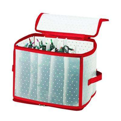 Christmas Light Organizer in Red