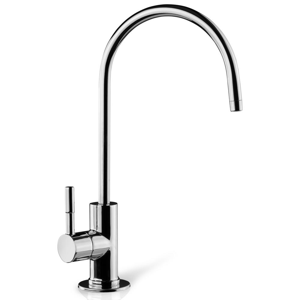 ISPRING European Designer Drinking Water Faucet in Luxury Chrome-GA1 ...