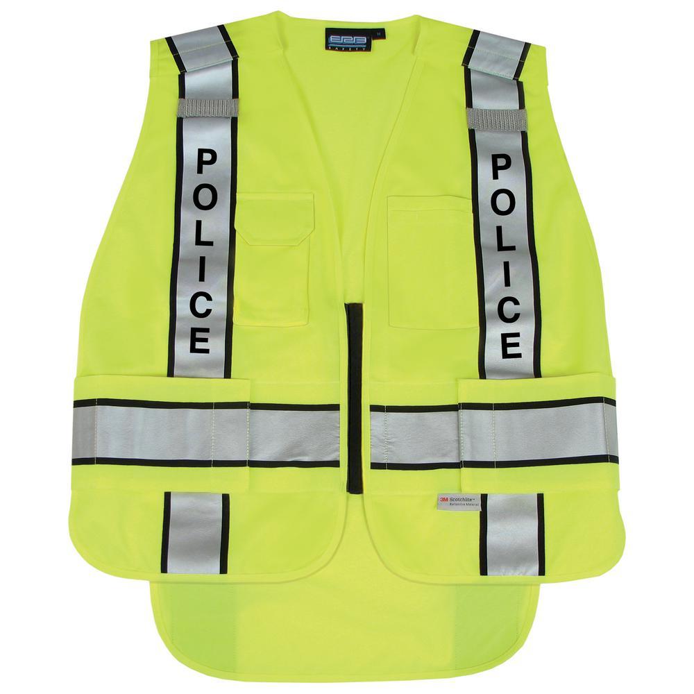 S368 5X/6X HVL 5-Point Break-Away Public Safety Vest