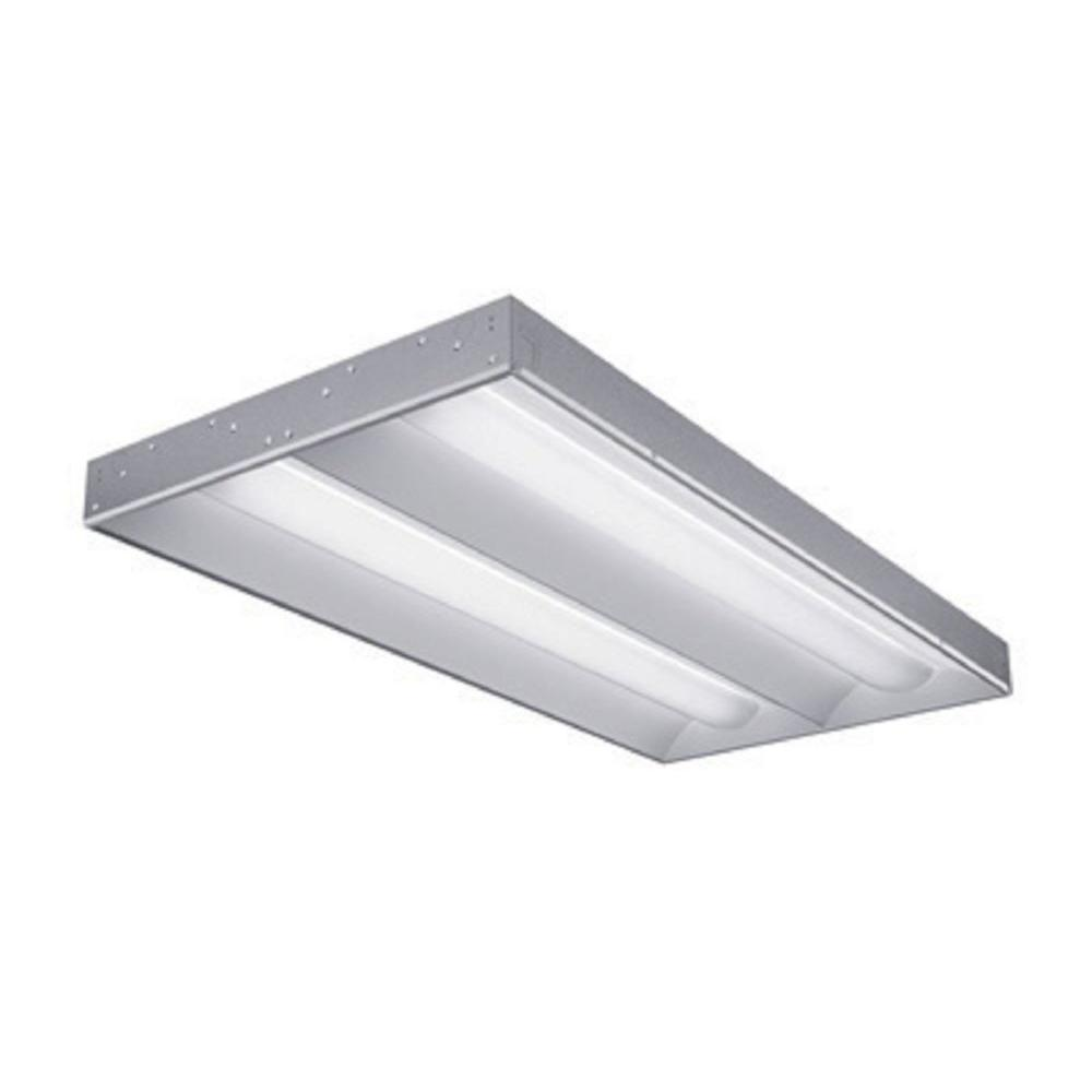 Lithonia Lighting 22 in. Gloss Volumetric Frameless Grid Troffer