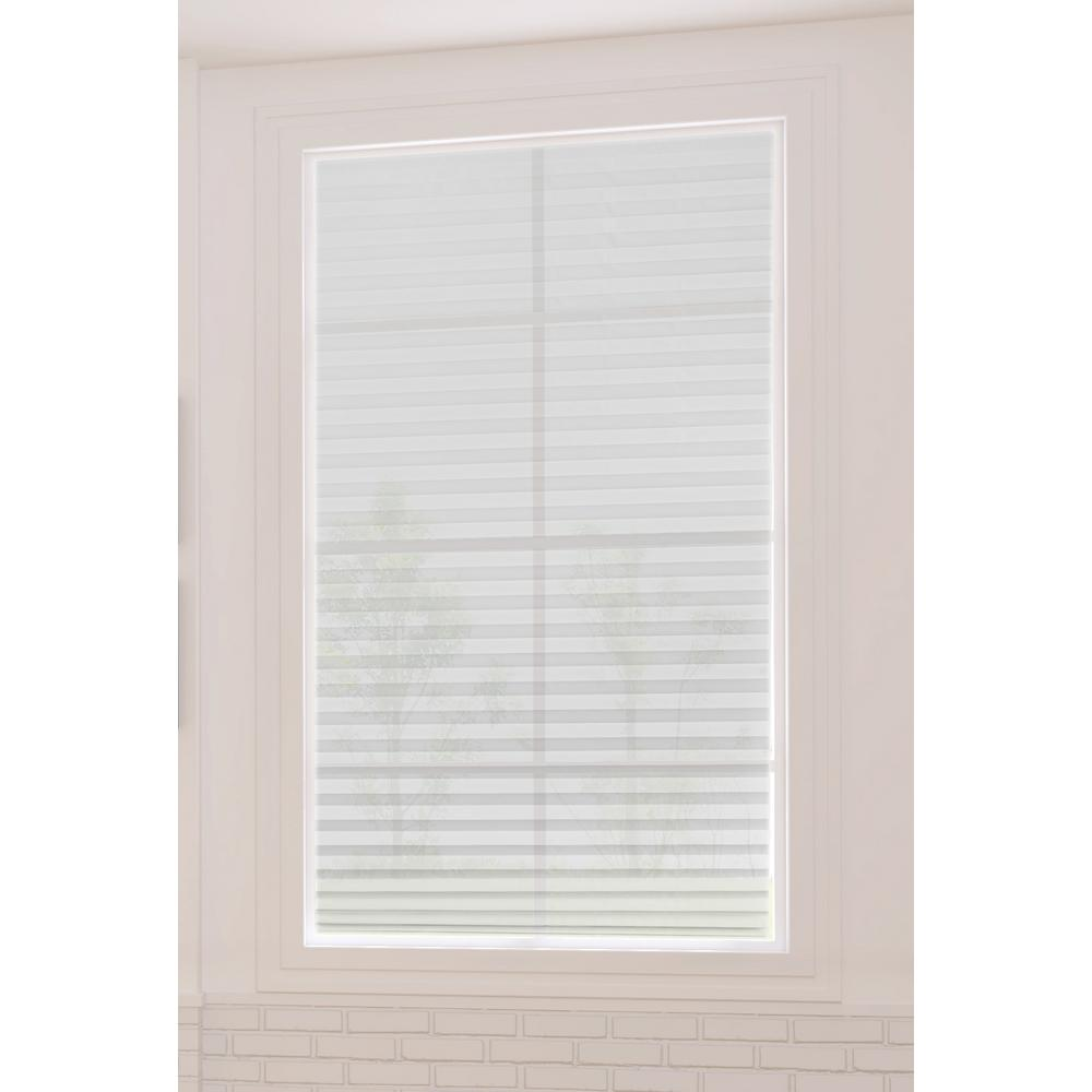 Redi Shade White Fabric Arch Window Shade 72 In W X 36