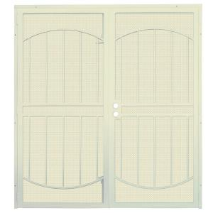 ArcadaMAX Navajo White Surface Mount Outswing Steel Security Double. Unique  Home Designs ...