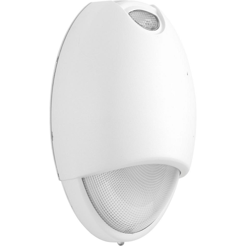 PEOEU Collection 2-Watt White Integrated LED Emergency Light
