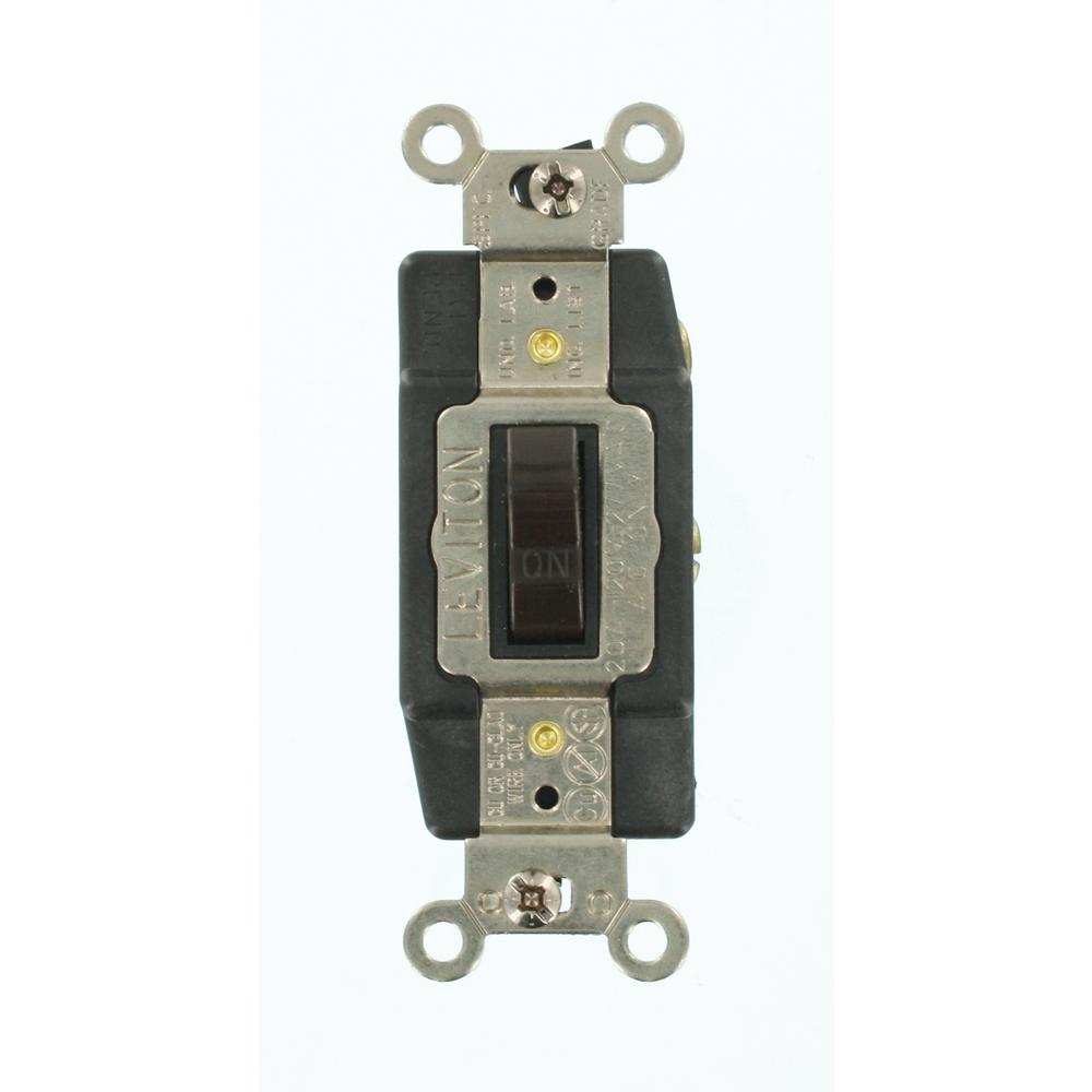 Brown Light Switches Wiring Devices Controls The Home Electrical Switch Picture 20 Amp Industrial Grade Heavy Duty Single Pole Double Throw Center Off