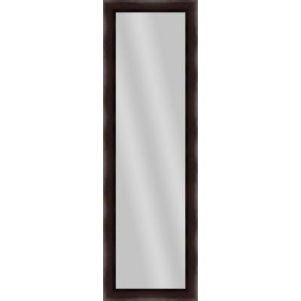 Large Rectangle Dark Bronze Art Deco Mirror (52.25 in. H x 16.25 in. W)