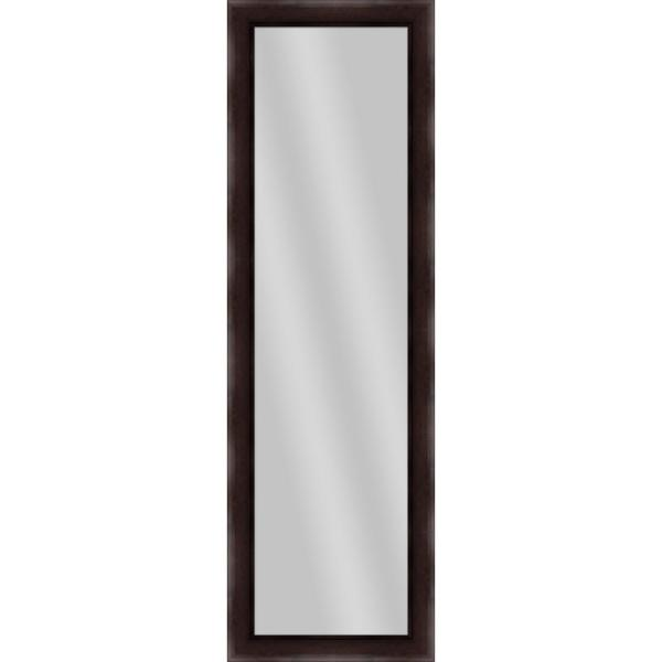 Large Rectangle Dark Bronze Art Deco Mirror (52.25 in. H x 16.25 in. W)