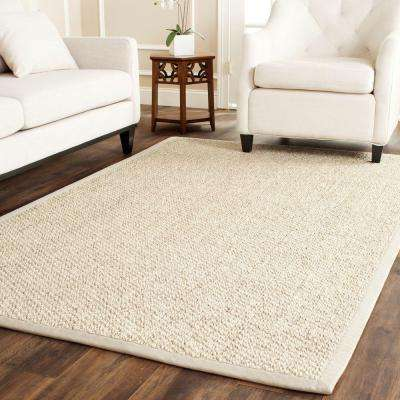 Natural Fiber Marble 6 Ft X 9 Area Rug