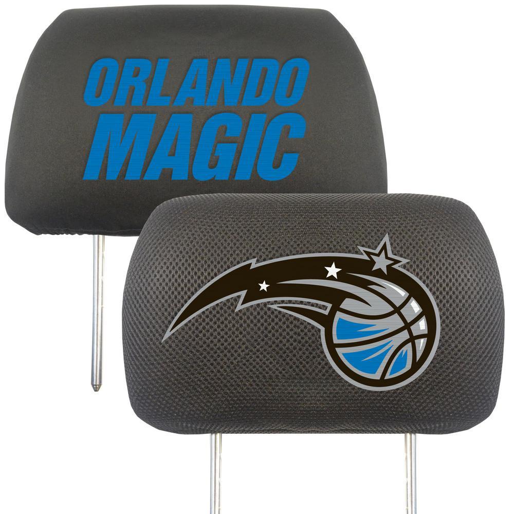 NBA - Orlando Magic Mesh 13 in. x 10 in. Head Rest Cover