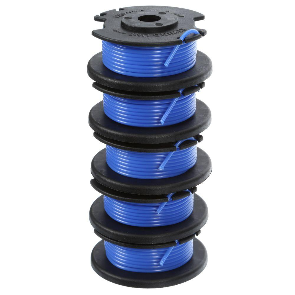 Ryobi 0.065 Replacement Auto Feed Line Spools (5-Pack)