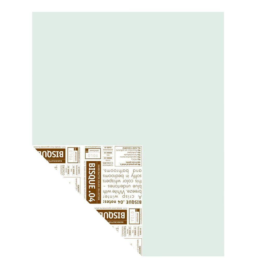 YOLO Colorhouse 12 in. x 16 in. Bisque .04 Pre-Painted Big Chip Sample