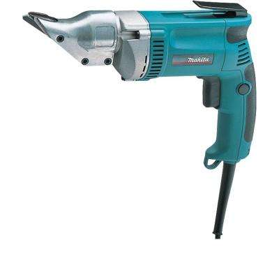 6.5 Amp Corded 18-Gauge Low Noise (80dB) Variable Speed Straight Shear w/ Belt Clip