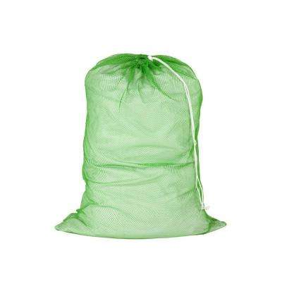 24 in. x 36 in. Mesh Laundry Bag in Dark Green (2-Pack)