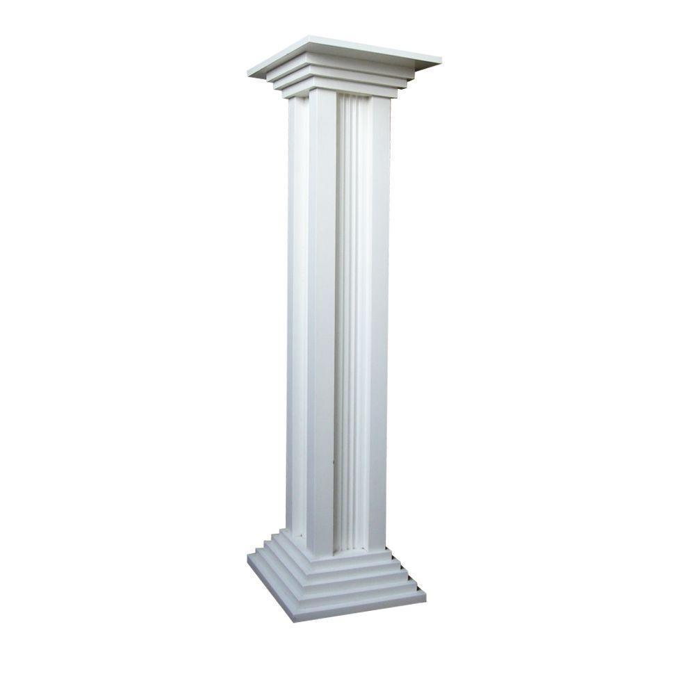 Home Bazaar Column Pedestal