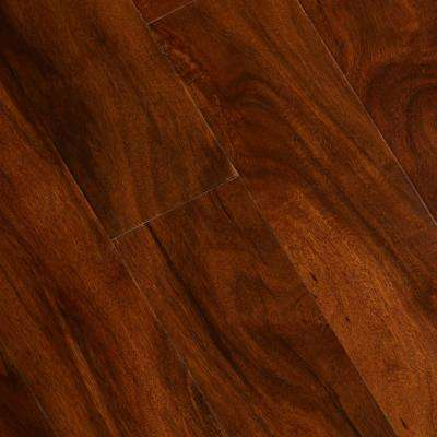 Anzo Acacia 3/8 in. Thick x 5 in. Wide x Varying Length Click Lock Exotic Hardwood Flooring (26.25 sq. ft. / case)