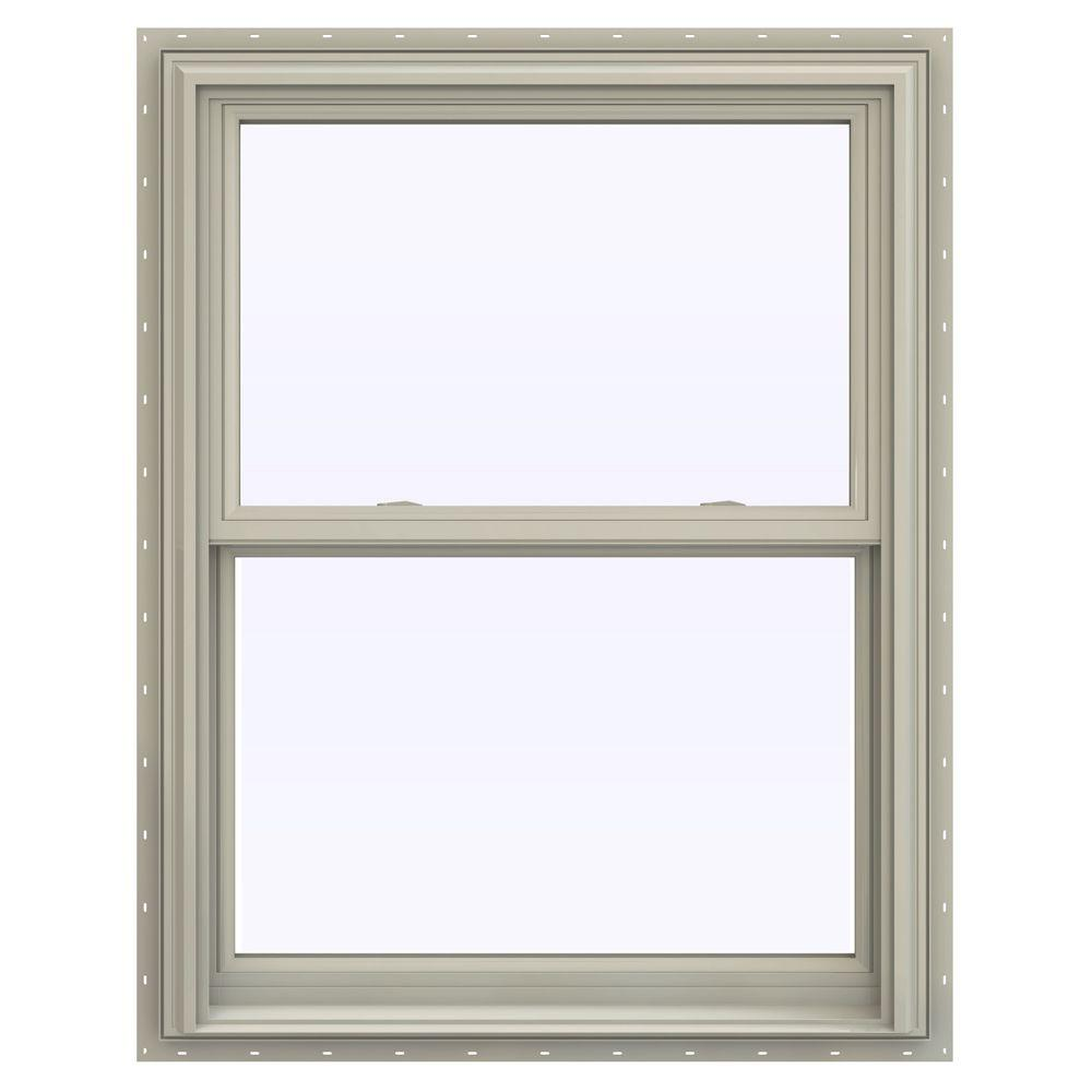 31.5 in. x 47.5 in. V-2500 Series Desert Sand Vinyl Double