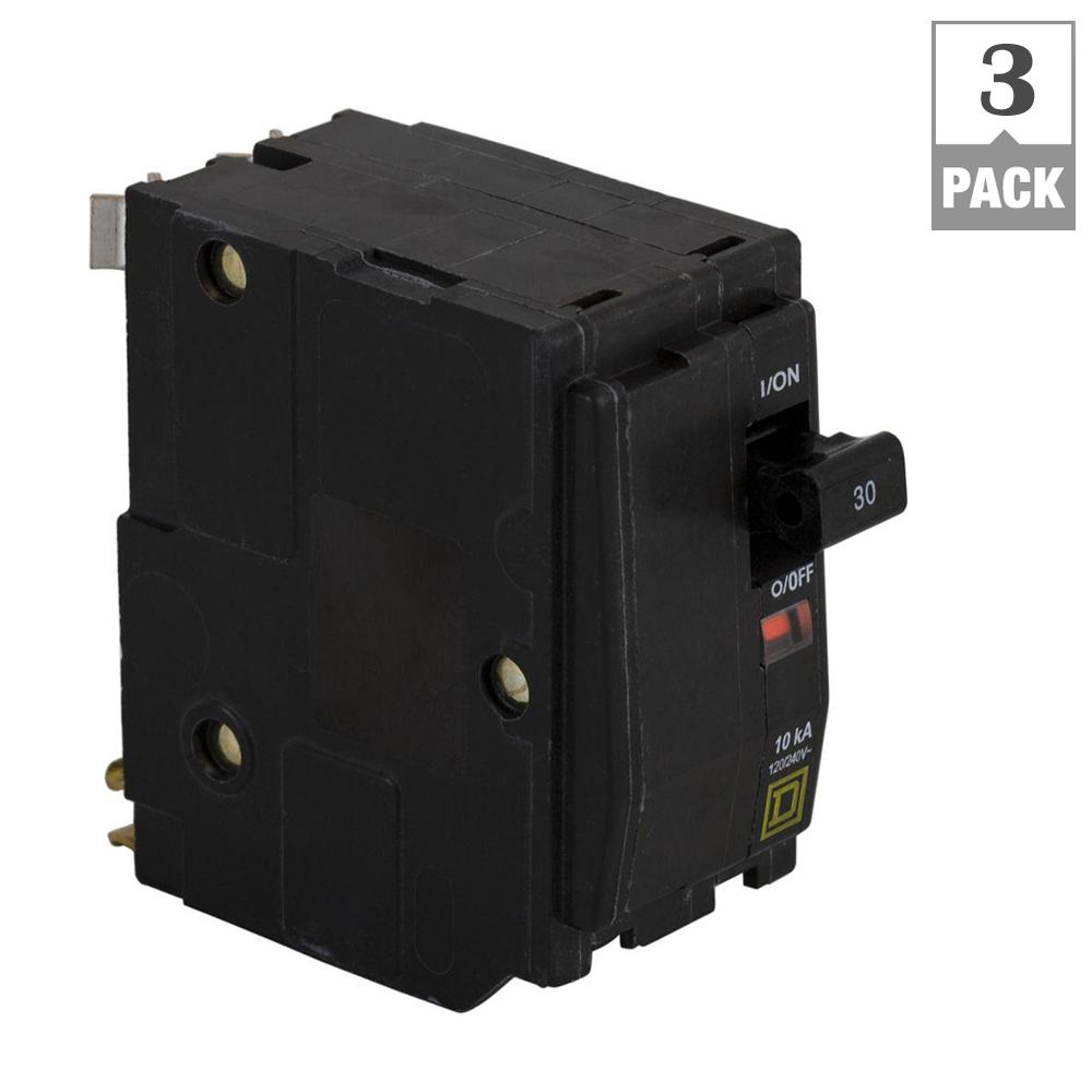 30 Amp Qo Breaker Wiring Diagram Schematics 3 Pole Square D 2 Circuit Pack Qo230cp3 The Rv