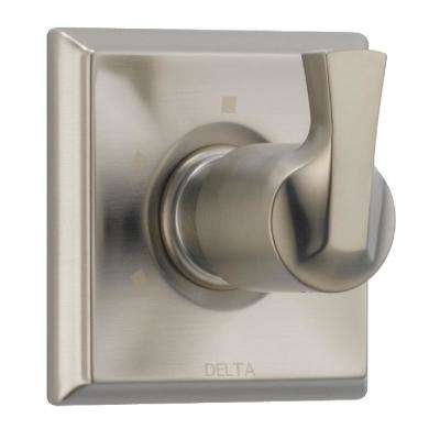 Dryden 1-Handle 3-Setting Diverter Valve Trim Kit in in SpotShield Stainless (Valve Not Included)