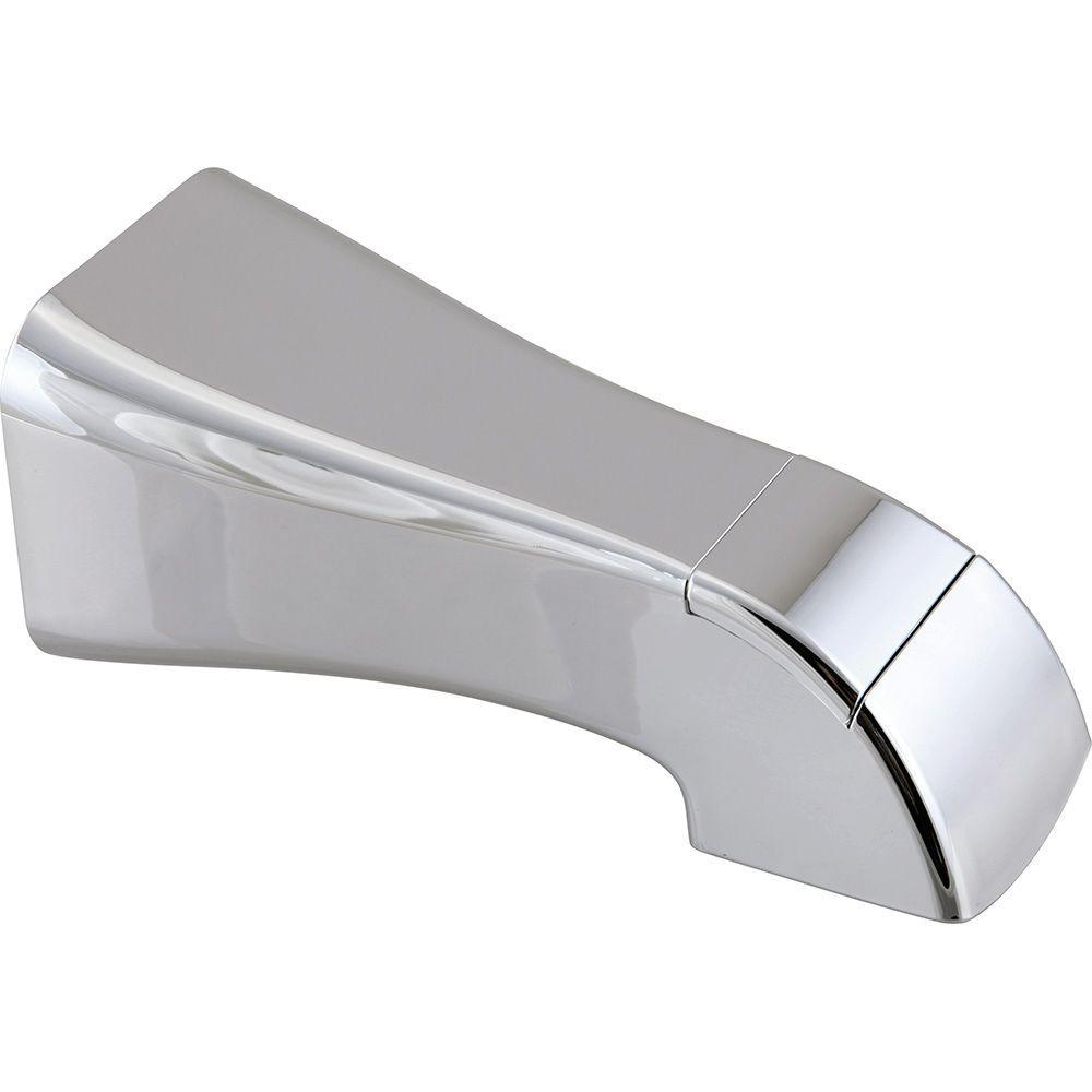 5-1/2 in. Diverter Tub Spout in Chrome