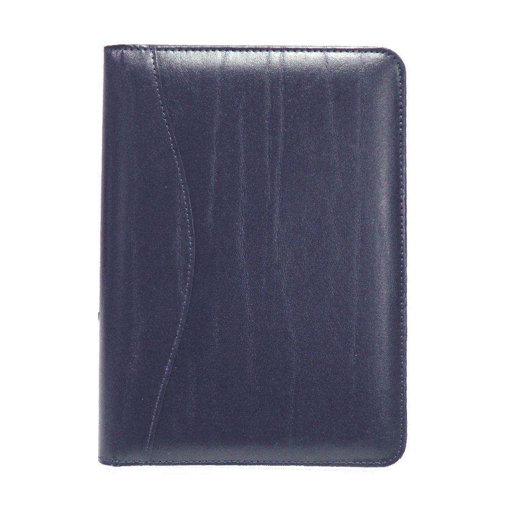 Compact Writing Portfolio Organizer, Blue