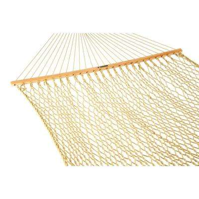 13 ft. Hammock Presidential DuraCord Rope Hammock Tan