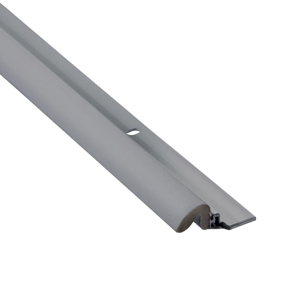 KC600 1-5/8 in. x 84 in. Gray Premium Foam and Aluminum