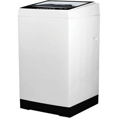 20.3 in. 1.6 cu. ft. Portable Top Load Electric Washing Machine in White