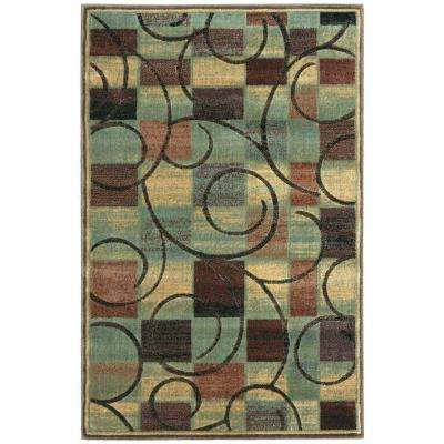 Expressions Brown 4 ft. x 6 ft. Area Rug