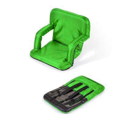 Portable Multiuse Adjustable Lime Recliner Stadium Seat