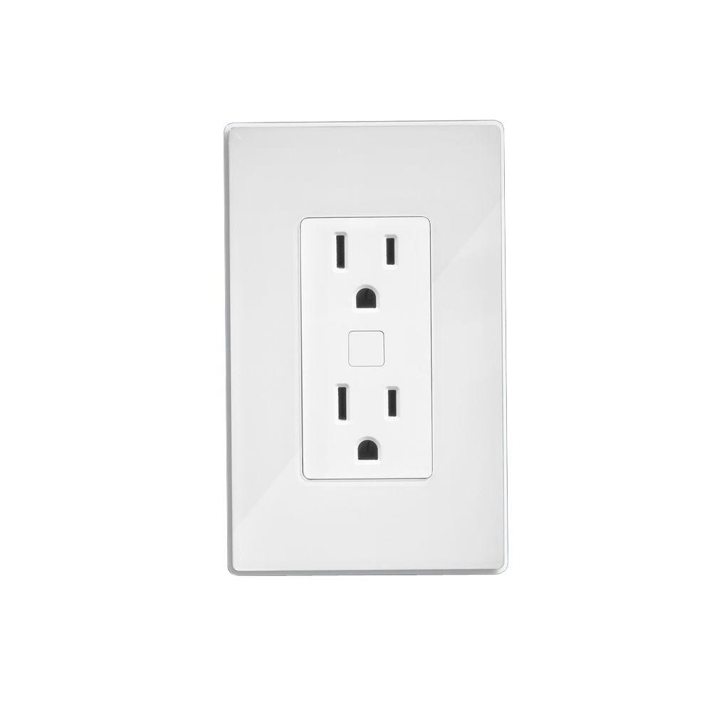 Quirky Outlink - Smart Wall Duplex Outlet with Energy Monitor ...