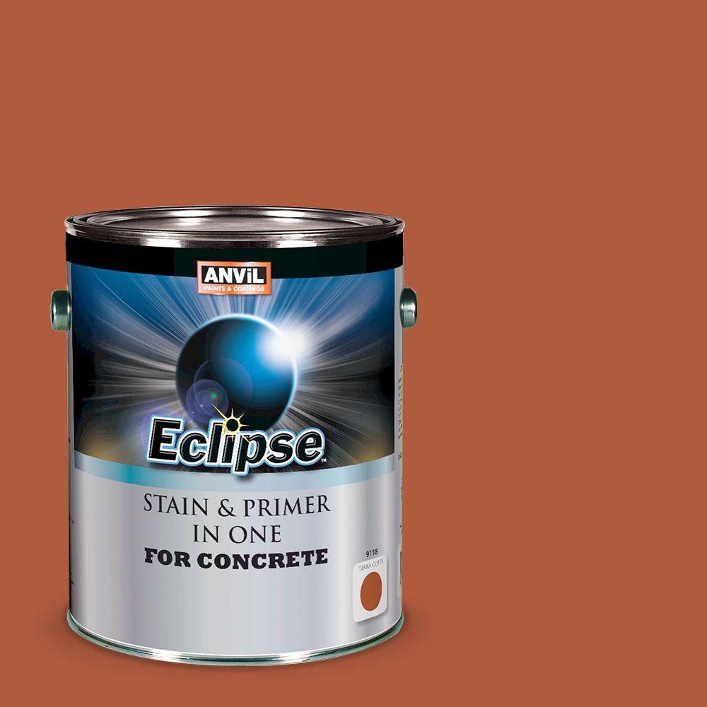 ANViL 1-gal. Terra Cotta Eclipse Concrete Stain and Primer in One