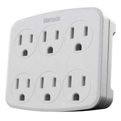 3- Outlet Surge Tap with Phone Cradle